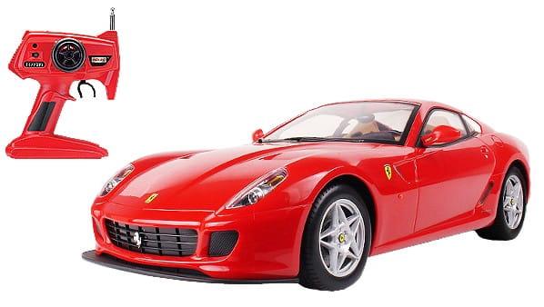 Купить Радиоуправляемая машина MJX Ferrari 599 GTB Fiorano 1:20 красная в интернет магазине игрушек и детских товаров