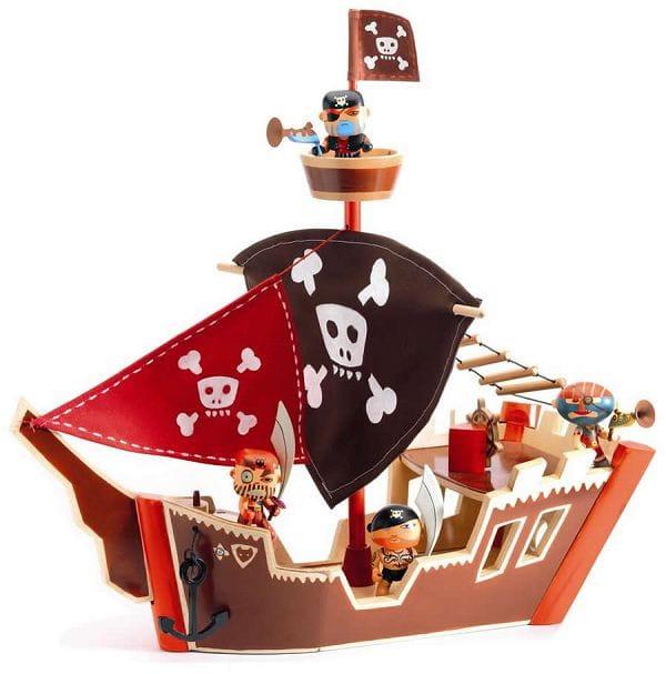 Игровой набор Djeco 06830 Пиратский корабль