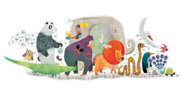 Пазл-гигант Djeco 07171 Животные