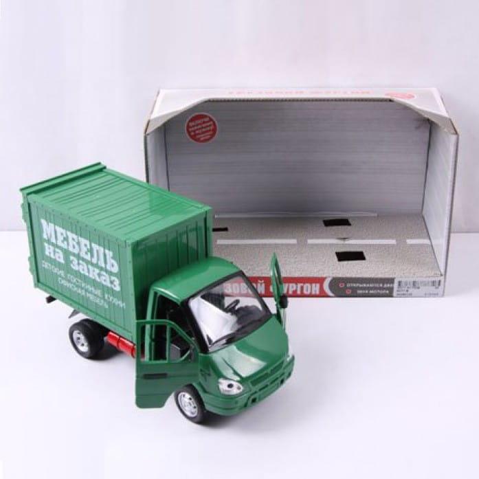 Инерционный автомобиль Play Smart Р40515 Газель фургон - Мебель (24 см)