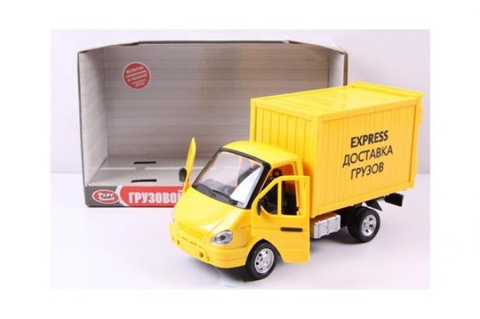 Инерционный автомобиль Play Smart Р40518 Газель фургон - Доставка (24 см)