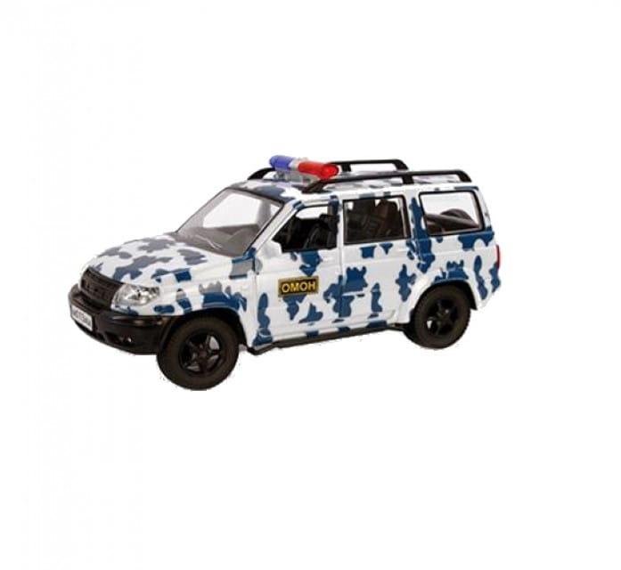 Инерционный автомобиль Play Smart Р41363 Автопарк - Омон (19 см)