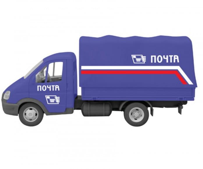 Инерционный автомобиль Play Smart Р41370 Автопарк - Почта (17 см)