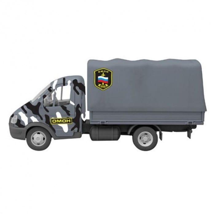 Инерционный автомобиль Play Smart Р41372 Автопарк - Омон (17 см)