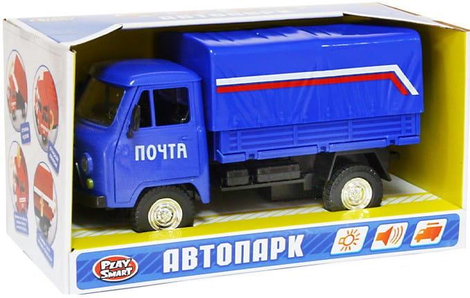 Инерционный автомобиль Play Smart Р41425 Автопарк - УАЗ 3909 Почта (17 см)
