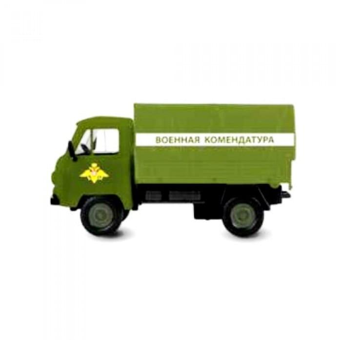 Инерционный автомобиль Play Smart Р41426 Автопарк - Военная комендатура (17 см)
