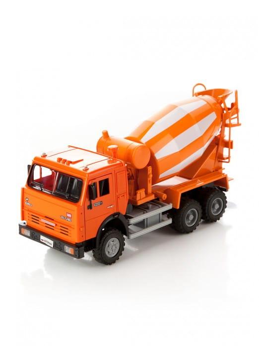 Инерционный автомобиль Play Smart Р41428 Автопарк - Бетономешалка (23 см)