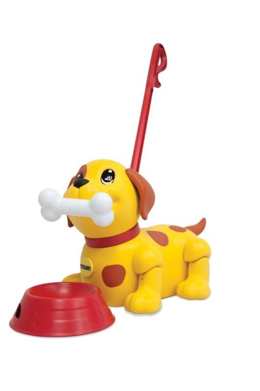 Интерактивный щенок Tomy ТО72376 Погуляй со мной