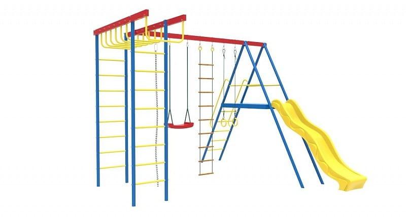 Детский спортивно-игровой комплекс Самсон gelios Гелиос