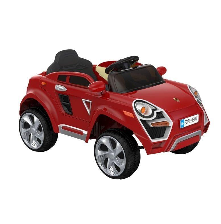Электромобиль 1toy Т11036 Porsche Cayenne - красный