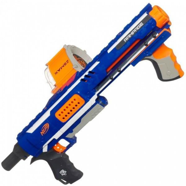 Купить Бластер Nerf Элит Рэмпейдж Elite Rampage (Hasbro) в интернет магазине игрушек и детских товаров