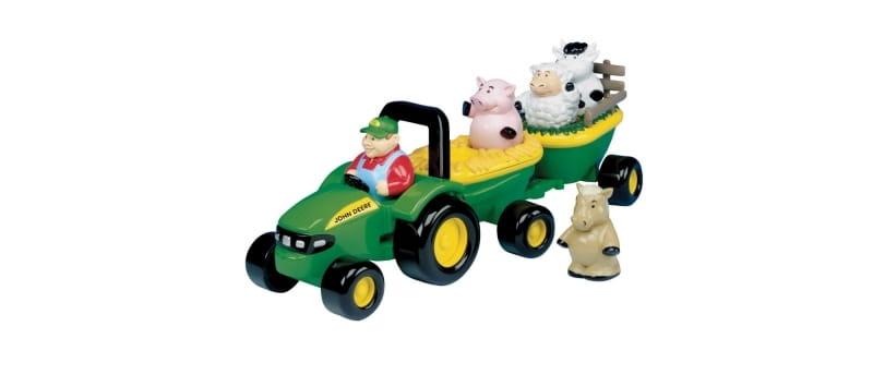 Игровой набор Tomy ТО42947 John Deere - Веселый трактор