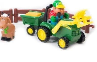 Игровой набор Tomy ТО43068 John Deere - Погрузка урожая (Моя первая ферма)