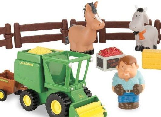 Игровой набор Tomy ТО43069 John Deere - Уборка урожая (Моя первая ферма)