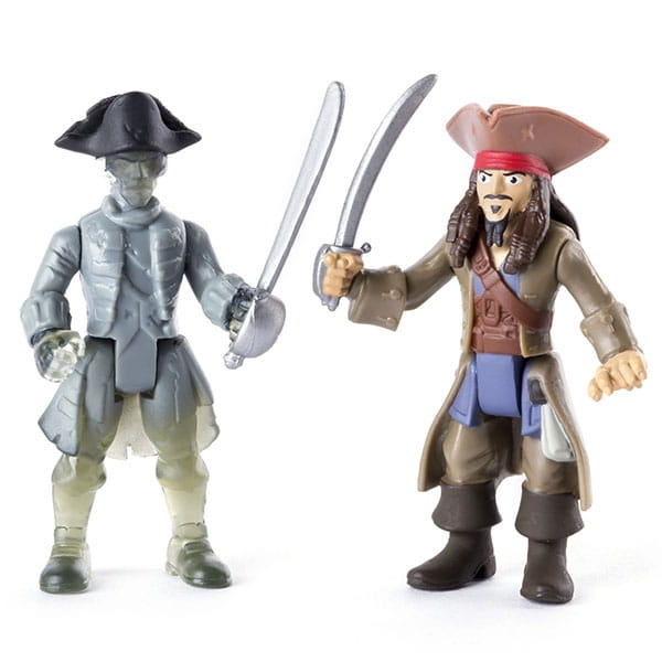 Игрушка Pirates of Caribbean 73101-P 2 фигурки героев - Джек Воробей и член команды Салазара