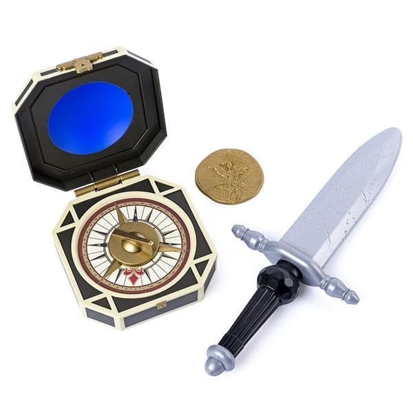 Набор Pirates of Caribbean 73104-P Оружие Джека Воробья (пиратский кинжал, компас, монета)