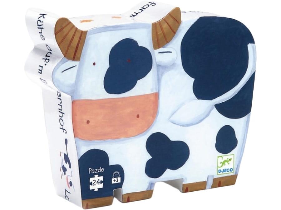 Пазл DJECO Коровы на ферме