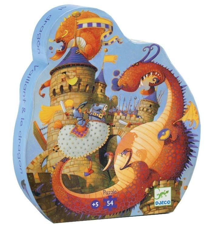 Пазл Djeco 07256 Рыцарь и дракон