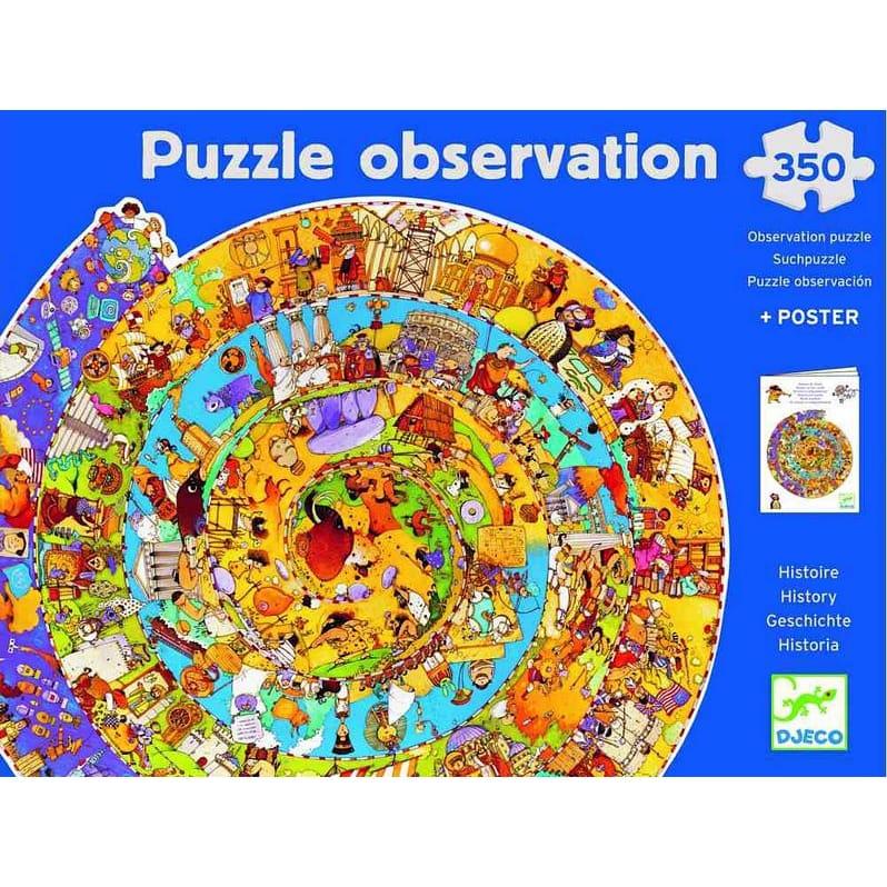 Пазл-игра на наблюдательность Djeco 07470 История
