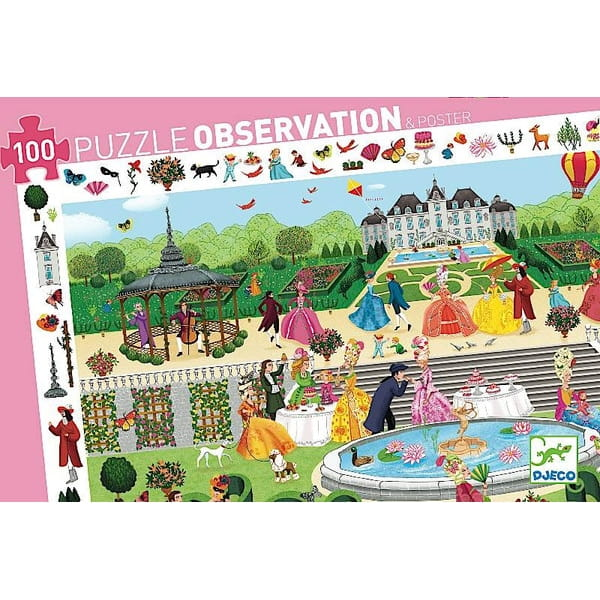 Пазл-игра на наблюдательность Djeco 07505 Бал в парке
