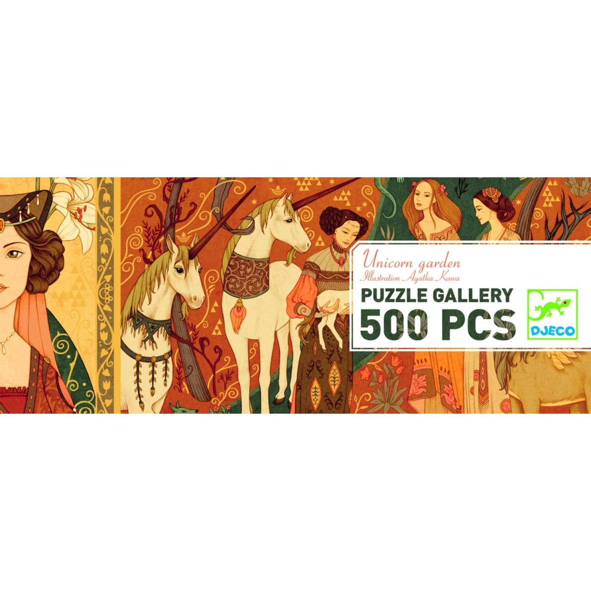 Пазл DJECO Дама и единорог - 500 деталей