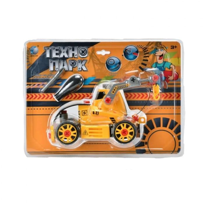 Конструктор TongDe В72180 Технопарк - Трактор на гусеницах