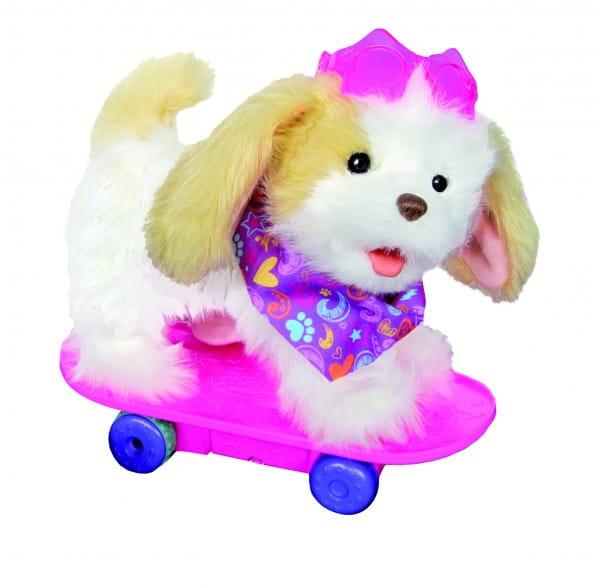 Купить Интерактивная игрушка FurReal Frends Трикси на скейтборде (Hasbro) в интернет магазине игрушек и детских товаров