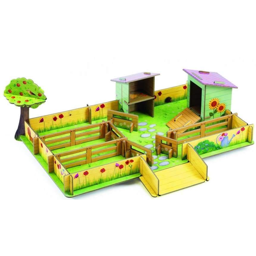 Игровой набор-конструктор Djeco 07711 Ферма Мари