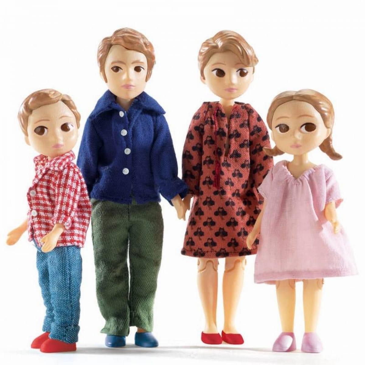 Набор кукол DJECO Семья Гаспара и Роми
