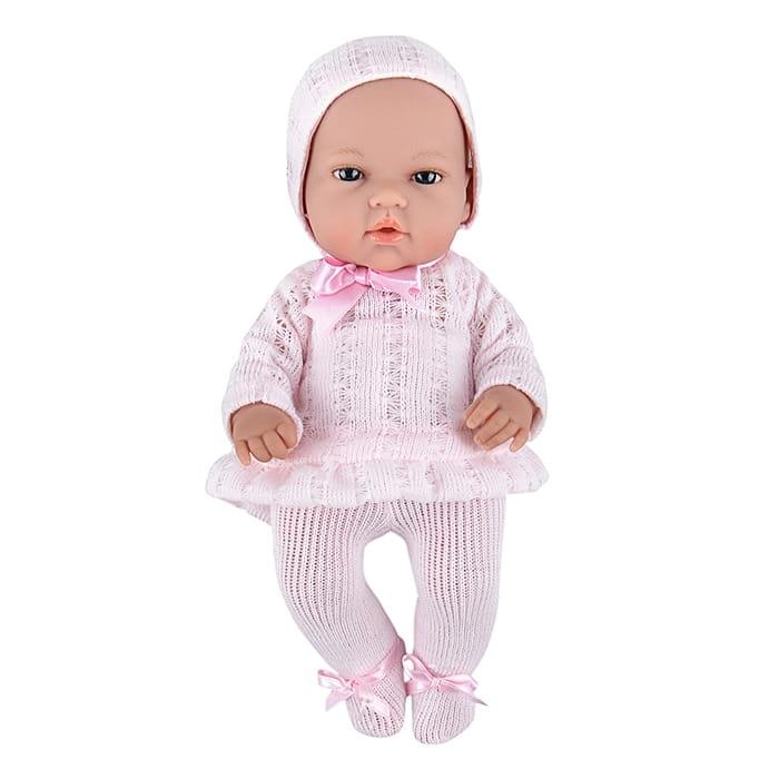Пупс Arias Т58635 в розовых колготах и шапочке - 33 см