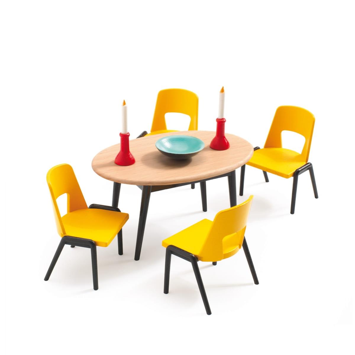 Набор мебели для домика Djeco 07820 Столовая