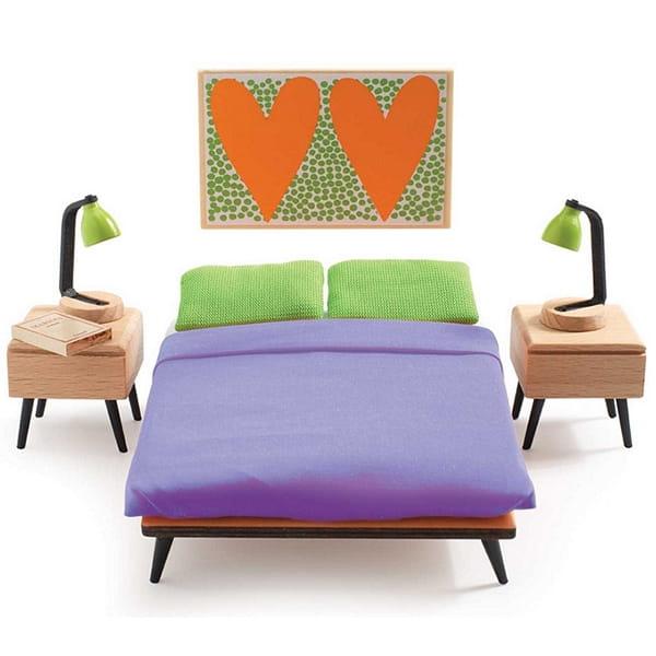 Набор мебели для домика Djeco 07825 Спальня