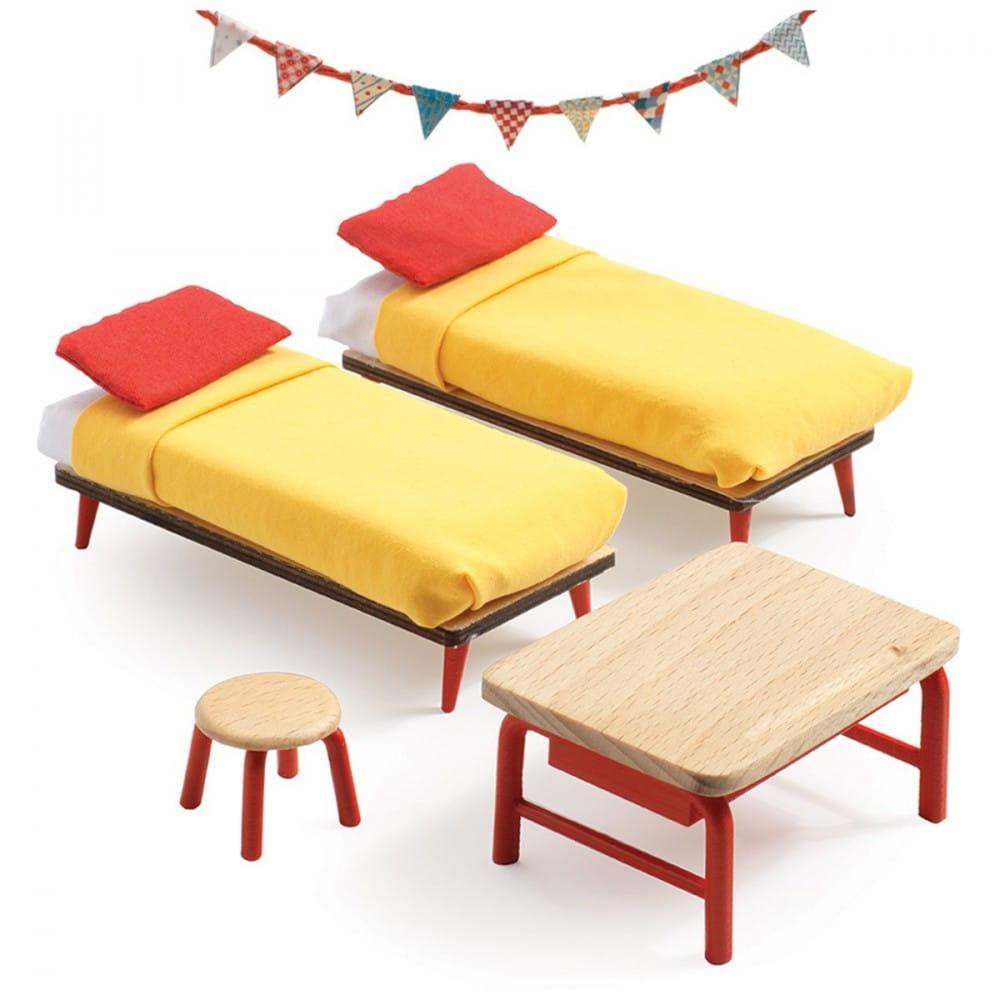 Набор мебели для домика Djeco 07826 Спальня для детей