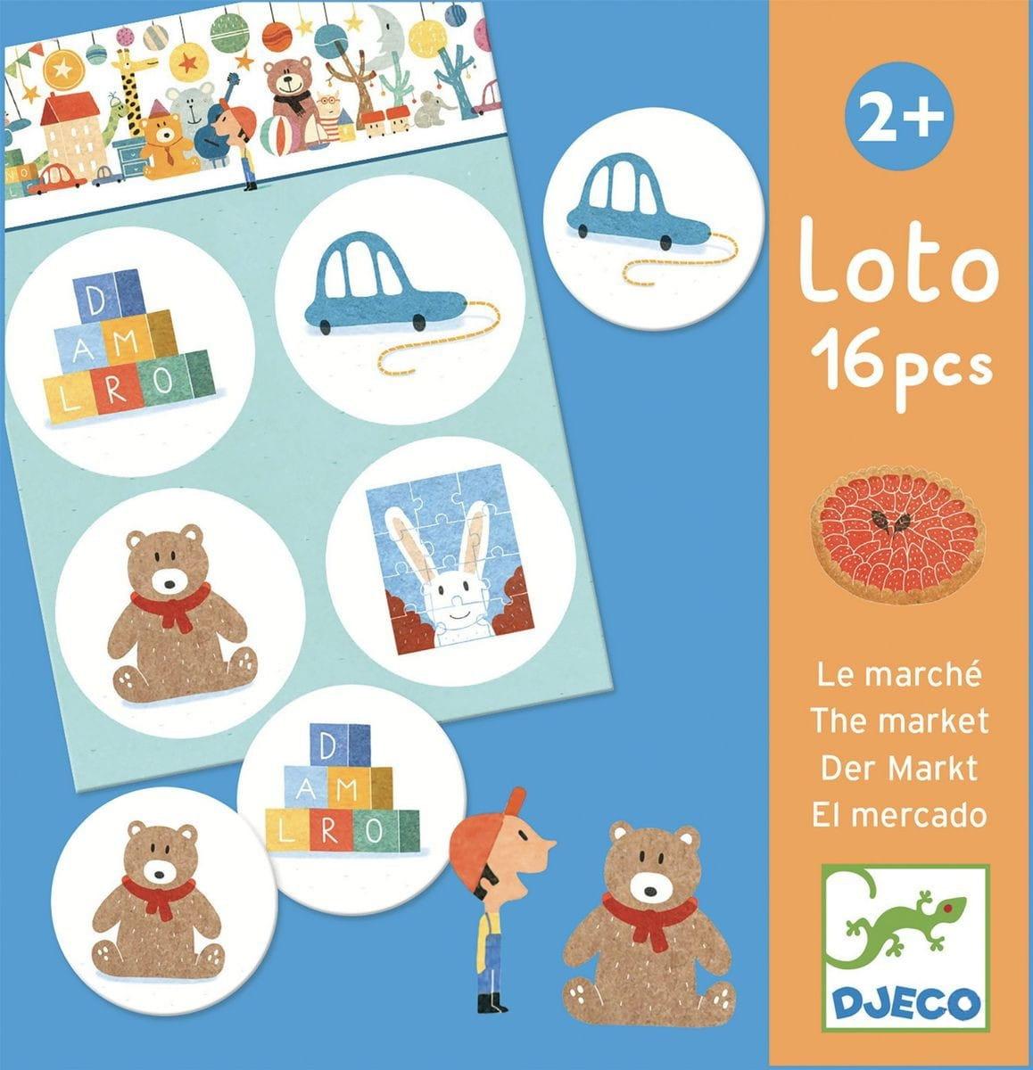 Лото Djeco 08125 Магазин