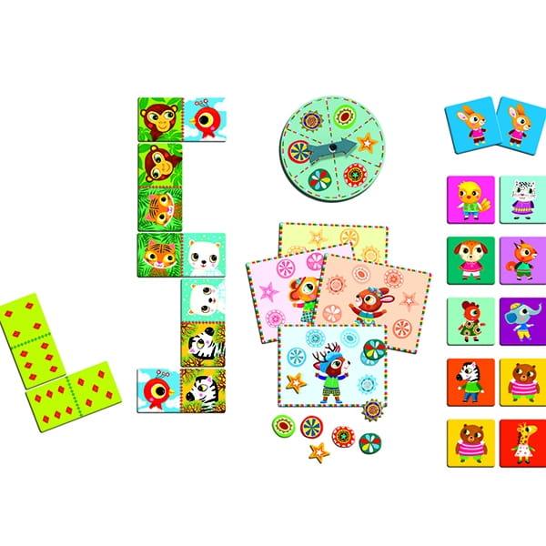 Набор настольных игр Djeco (3 игры)