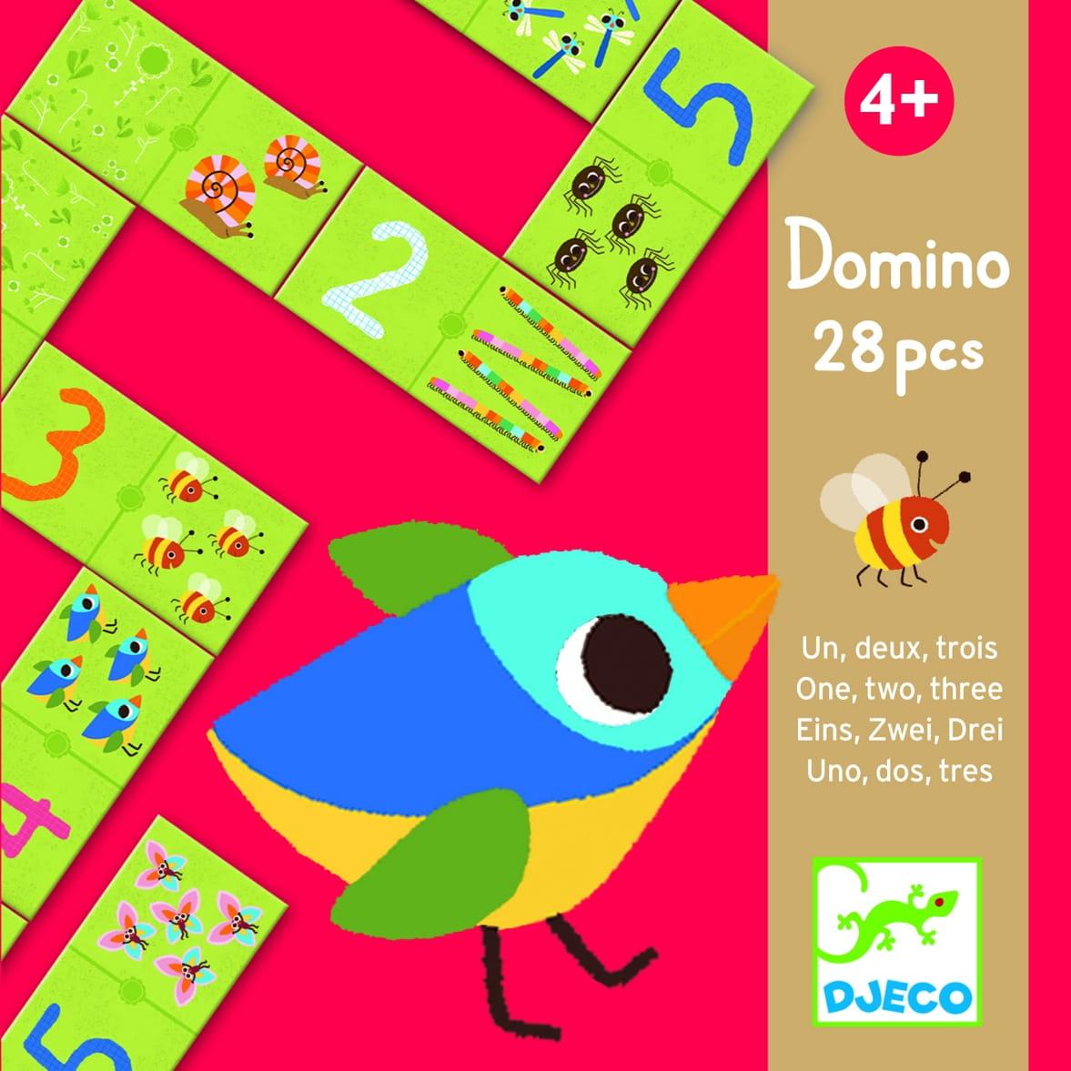 Домино Djeco 08168 Раз, два, три