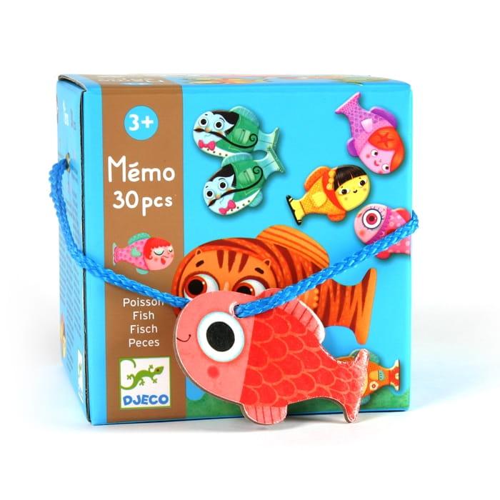 Игра - мемо Djeco 08169 Рыбки