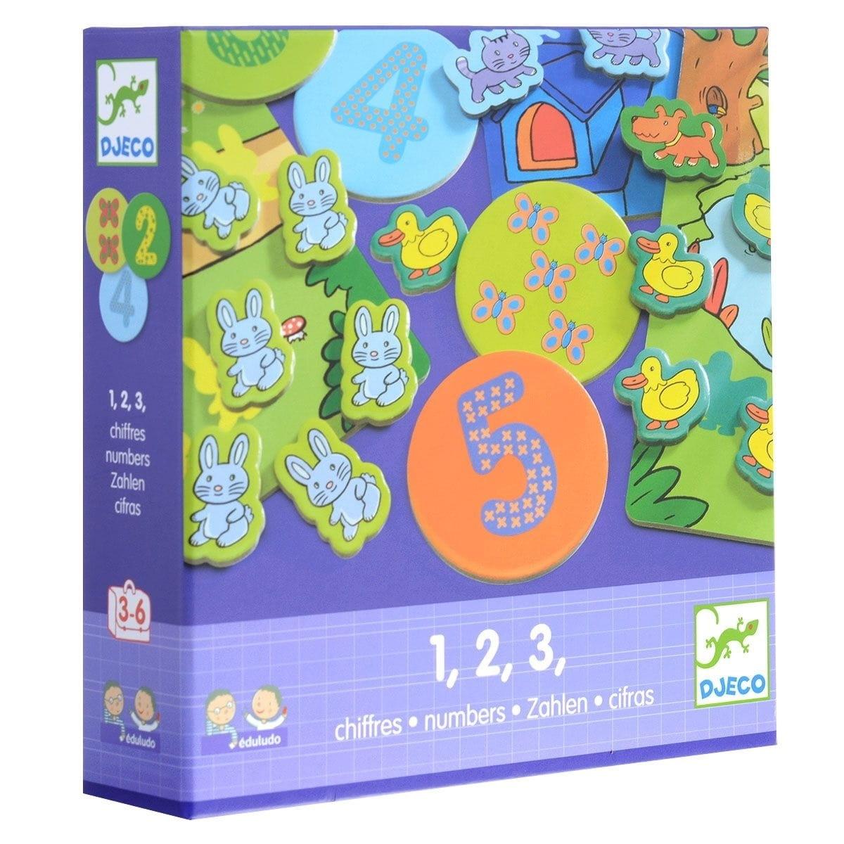 Развивающая игра Djeco 08315 Цифры