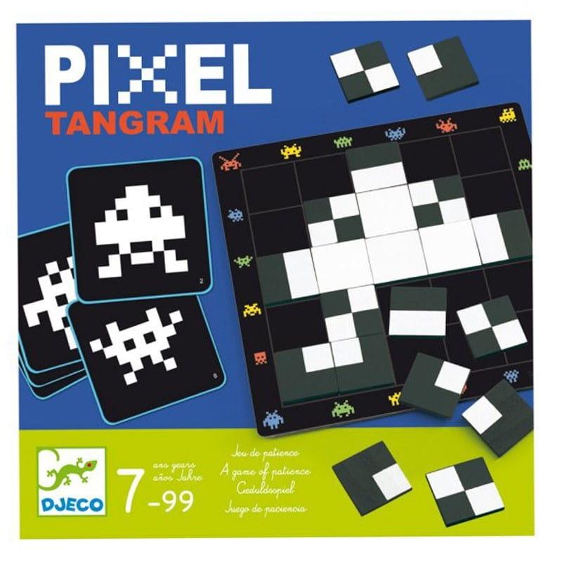 Настольная игра-головоломка DJECO Пиксели
