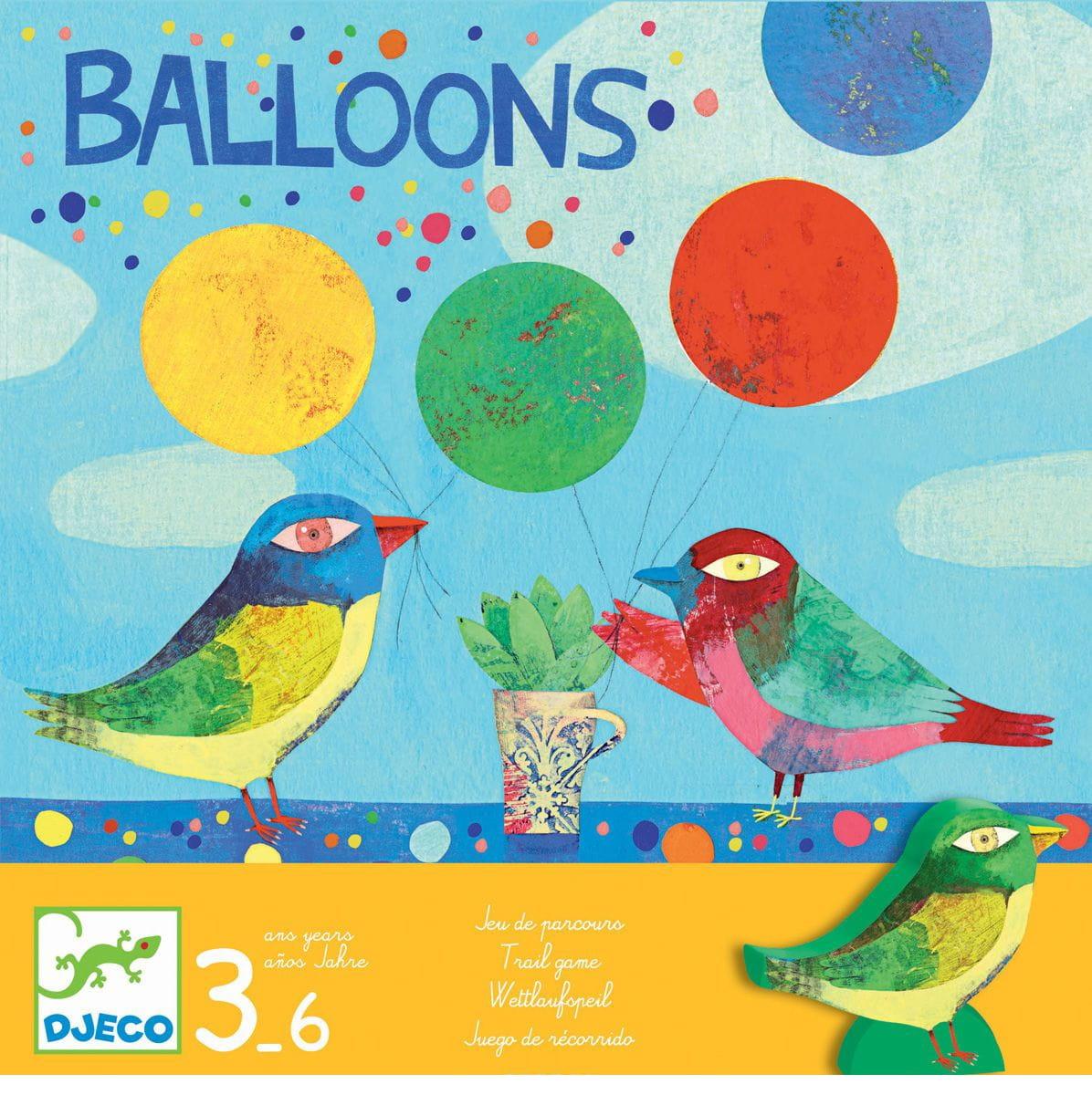 Настольная игра Djeco 08452 Воздушные шары
