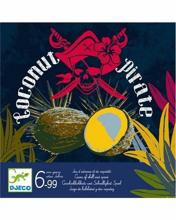 Настольная игра Djeco 08460/16 Кокос для пирата