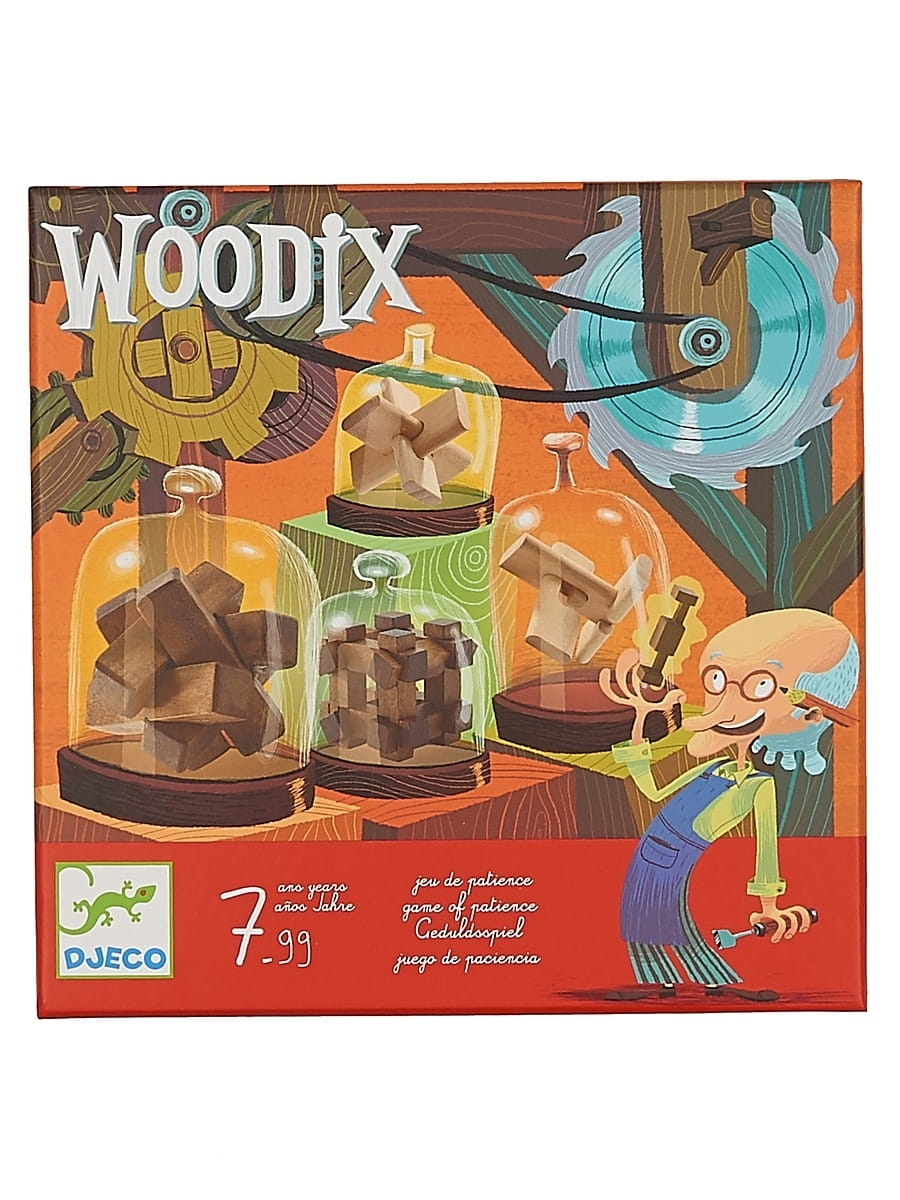 Набор деревянных головоломок Djeco