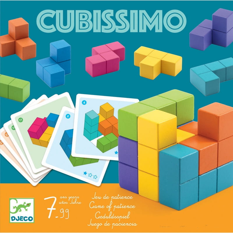 Настольная игра-головоломка Djeco Кубиссимо