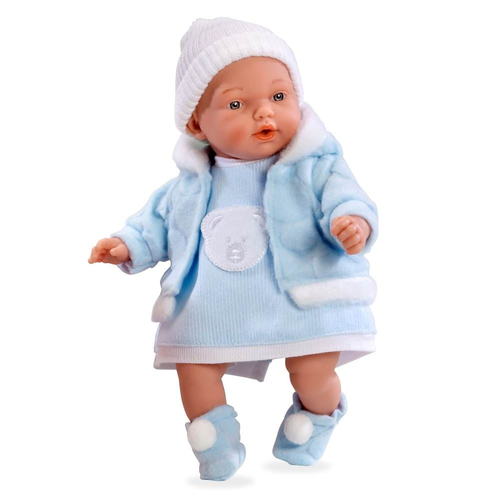 Пупс Arias Т59762 в голубом костюмчике - 28 см