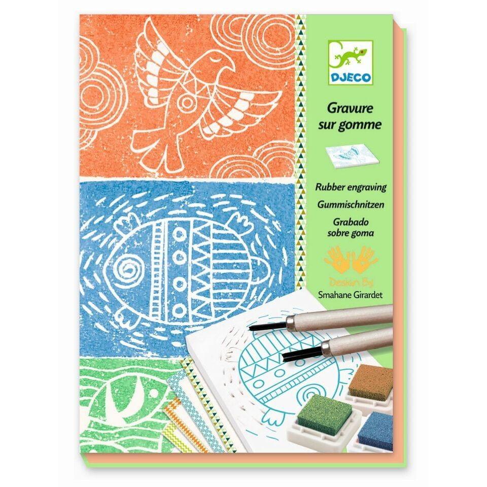 Набор для творчества Djeco 08614 Изготовление штампов