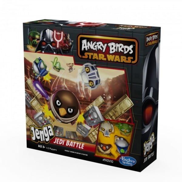 Купить Настольная игра Angry Birds Дженга (Jenga) Атака Клонов (Hasbro) в интернет магазине игрушек и детских товаров