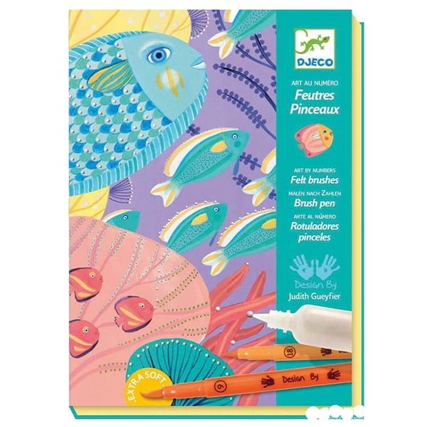 Набор для творчества Djeco 08647 Под водой
