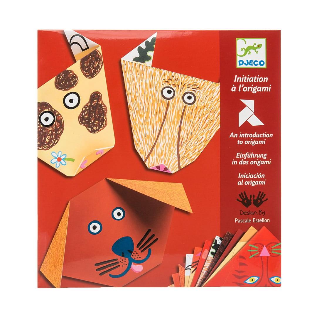 Оригами Djeco 08761 Бумажные животные