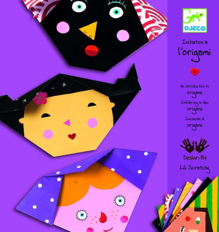 Оригами Djeco 08762 Бумажные лица