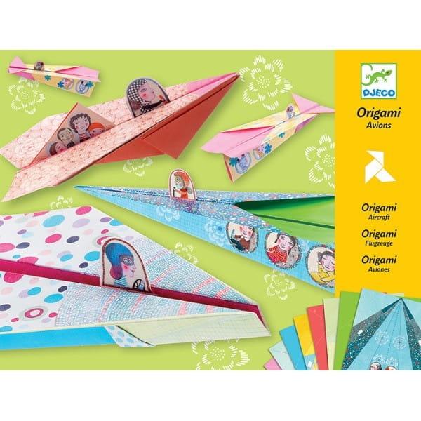 Оригами Djeco 08769 Веселые авиаторы